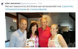 Aan tafel bij Ard & Erben