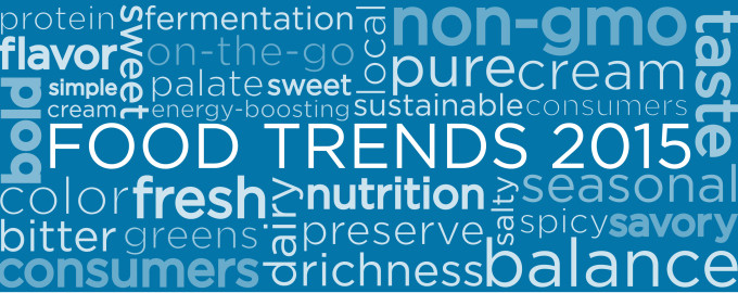 Wat gaan we allemaal eten in 2015?