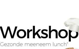 Kookworkshop Gezonde Meeneemlunches + extra GRATIS lezing – Ede