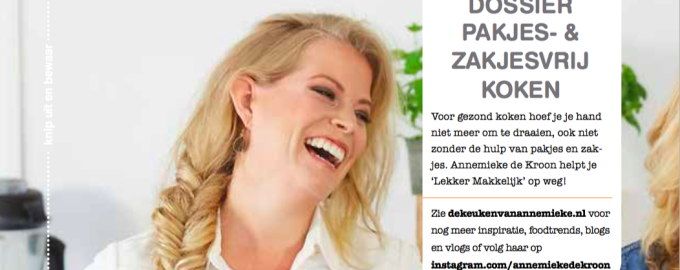 3 Pagina's in Vitaminmagazine!