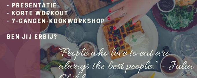 """""""Gezonderwijs in jouw bedrijf!"""" 26 okt: presentatie + 2 workshops"""