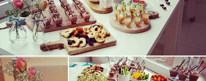 Ontbijtcatering op het Persevent van Samsung