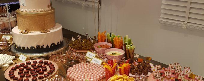 Alles is roze! Catering op de Sintavond bij Delia Skin Clinic