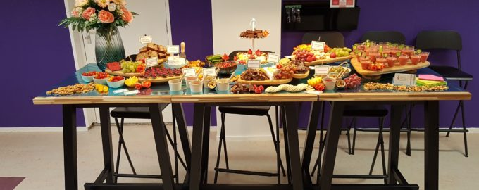 Opening Fit4Lady – Grazing Table