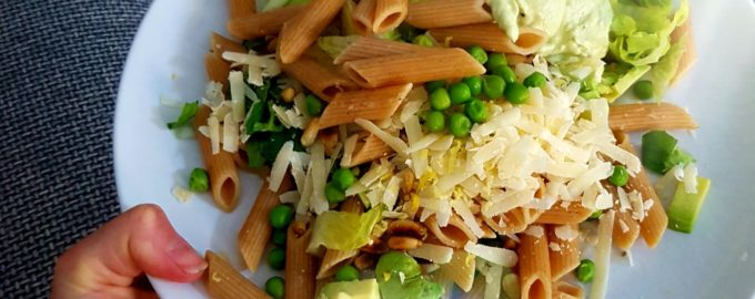 Romige glutenvrije pasta