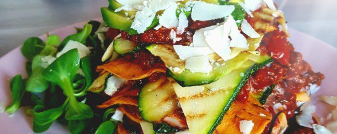 Lekker-veel-groente-toren-lasagne