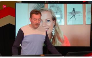 Live bij Omroep Flevoland (filmpje)